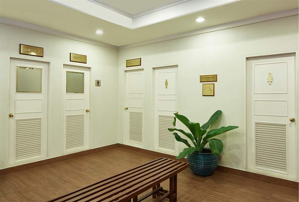 Sauna & Steam Room (06.00 hrs - 20.00 hrs) F Floor