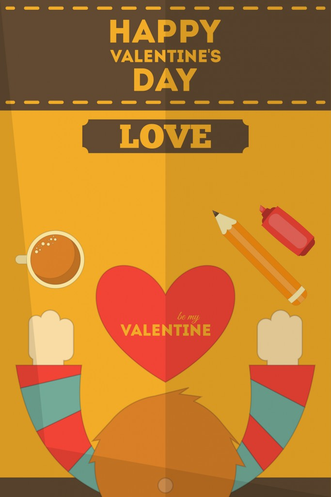 Love on Valentines day
